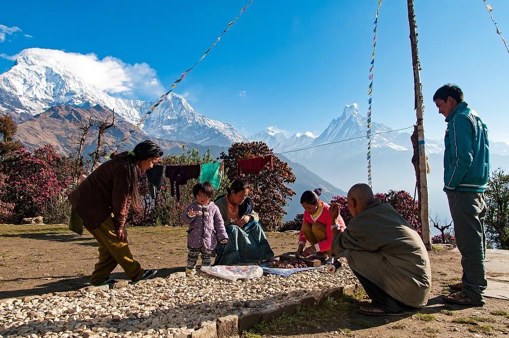 People of Tadapani village